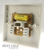 MEM Intra - M361 (F3594) - One Gang Master Telephone Outlet New